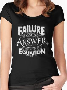 FAILURE  Women's Fitted Scoop T-Shirt