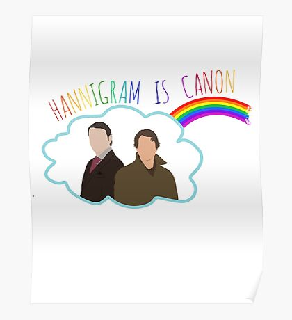 Hannigram is canon #2 Poster