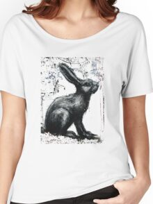 Giant Rabbit by ROA Women's Relaxed Fit T-Shirt