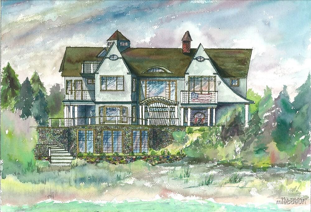 House @ Woodneck Beach by mleboeuf