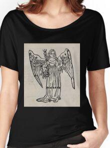 Hic Codex Auienii Continent Epigrama Astronomy Rufius Festivus Avenius 1488 Astronomy Illustrations 0139 Constellations Women's Relaxed Fit T-Shirt
