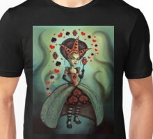 Heads Will Roll -Queen of Hearts Unisex T-Shirt