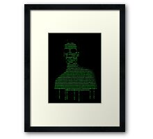 Neo Matrix Framed Print