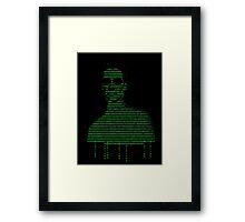 Neo Matrix Framed Print