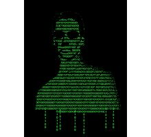 Neo Matrix Photographic Print