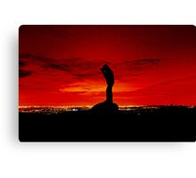 """ Master of the sky "" Canvas Print"