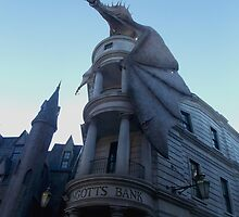 Gringotts Bank by tessanicole