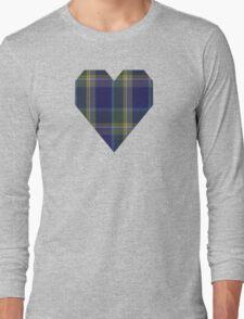 00182 Manx Hunting District Tartan  Long Sleeve T-Shirt