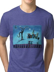 No Place Like Home - Whimsical Art by Valentina Miletic Tri-blend T-Shirt