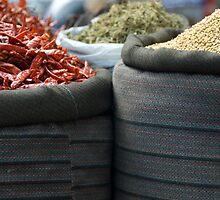 curry spices by Skye Hohmann