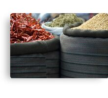 curry spices Canvas Print