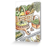 Vegetable Medley Greeting Card