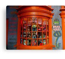 Weasley's Wizard Wheezes Canvas Print