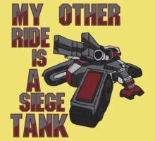 Siege Tanks, I Drive Them Baby Tee