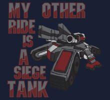 Siege Tanks, I Drive Them Kids Tee