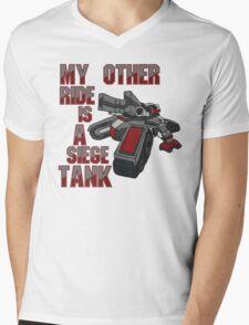 Siege Tanks, I Drive Them Mens V-Neck T-Shirt