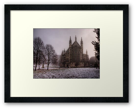Winchester Cathedral in the Freezing Fog by NeilAlderney