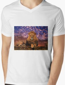 The Great One Mens V-Neck T-Shirt