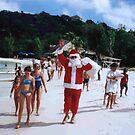 Caribbean Santa Claus by John Dalkin