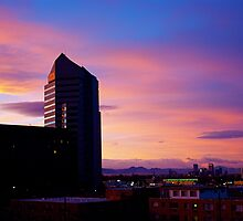 Denver Sunset by Jessica Moore