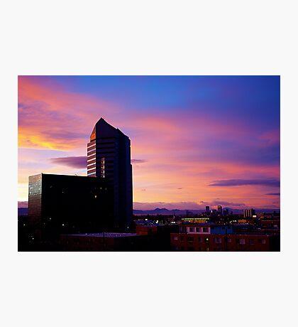 Denver Sunset Photographic Print