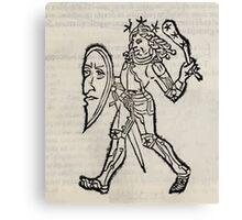 Hic Codex Auienii Continent Epigrama Astronomy Rufius Festivus Avenius 1488 Astronomy Illustrations 0131 Constellations Canvas Print