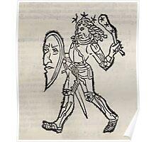 Hic Codex Auienii Continent Epigrama Astronomy Rufius Festivus Avenius 1488 Astronomy Illustrations 0131 Constellations Poster