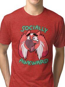 Temli is socially awkward Tri-blend T-Shirt