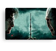 Harry Potter Vs Lord Voldemort Canvas Print
