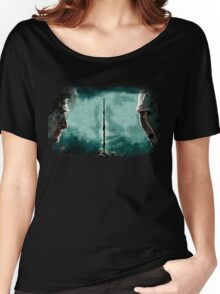 Harry Potter Vs Lord Voldemort Women's Relaxed Fit T-Shirt