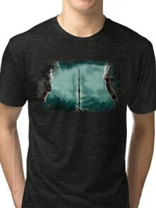 Harry Potter Vs Lord Voldemort Tri-blend T-Shirt