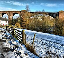 Waterside Viaduct . by Lilian Marshall