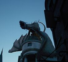 Gringotts Dragon by tessanicole