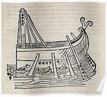 Hic Codex Auienii Continent Epigrama Astronomy Rufius Festivus Avenius 1488 Astronomy Illustrations 0179 Constellations Poster