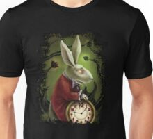 Vampire White Rabbit Unisex T-Shirt