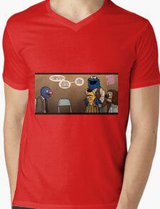 Remaining Muppets Together Mens V-Neck T-Shirt