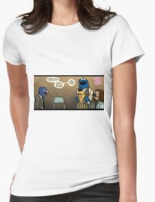 Remaining Muppets Together Womens Fitted T-Shirt