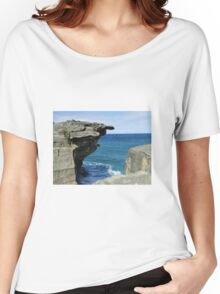 The sea and rocks Women's Relaxed Fit T-Shirt