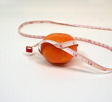 Orange on a diet by Celeste Cota