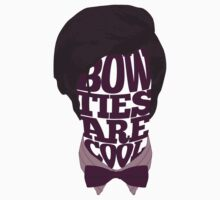 Bow Ties Are Cool Kids Tee