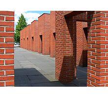 Brick Porticos? Photographic Print