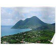 Le Diamant Beach - Martinique, F.W.I. Poster