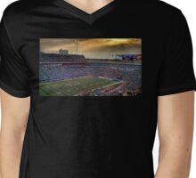 Ralph Wilson Stadium at Dusk Mens V-Neck T-Shirt