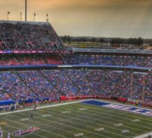 Ralph Wilson Stadium at Dusk Sticker