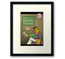 His name was Fozzie Paulsen. Framed Print