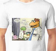 Cornflower blue tie Unisex T-Shirt