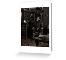 Sorcerer Thinking Greeting Card