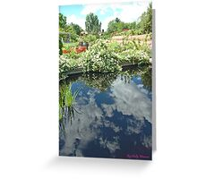Reflections of a Good Day Greeting Card