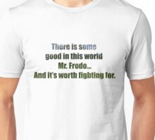 LOTR Sam's Speech Quote Unisex T-Shirt