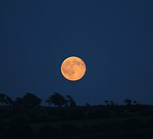moon over the hills by cork428